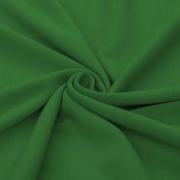 Tissu crêpe vert gazon