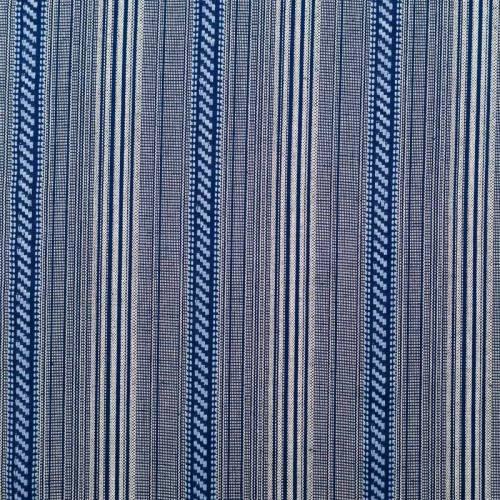 Tissu mexicain bleu et blanc