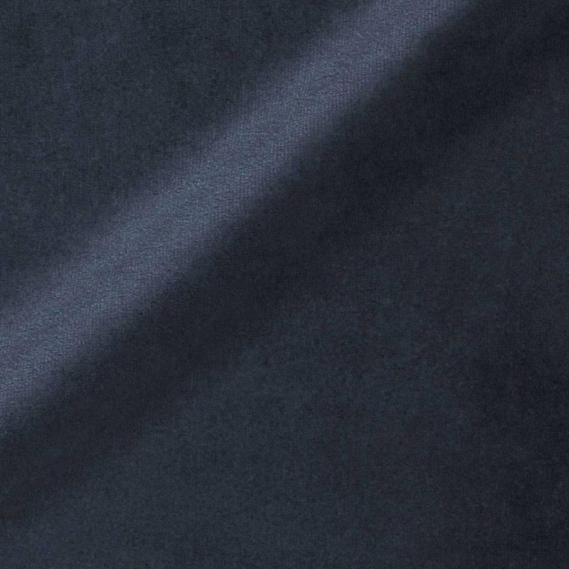 Ameublement velours bleu marine