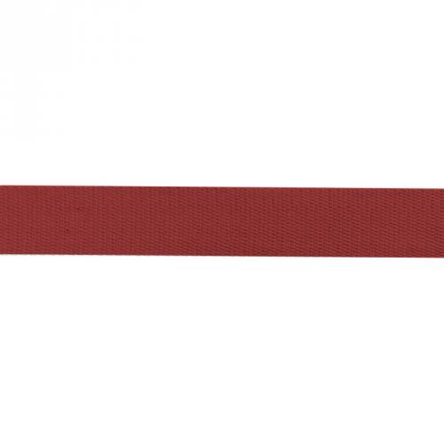 Sangle Coton 30mm rouge carmin