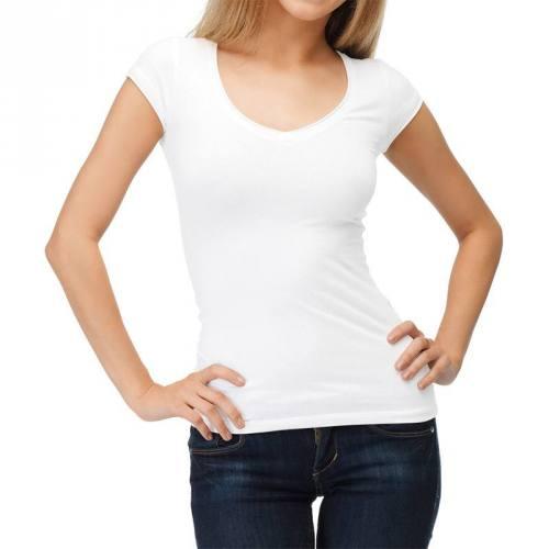 Jersey coton blanc
