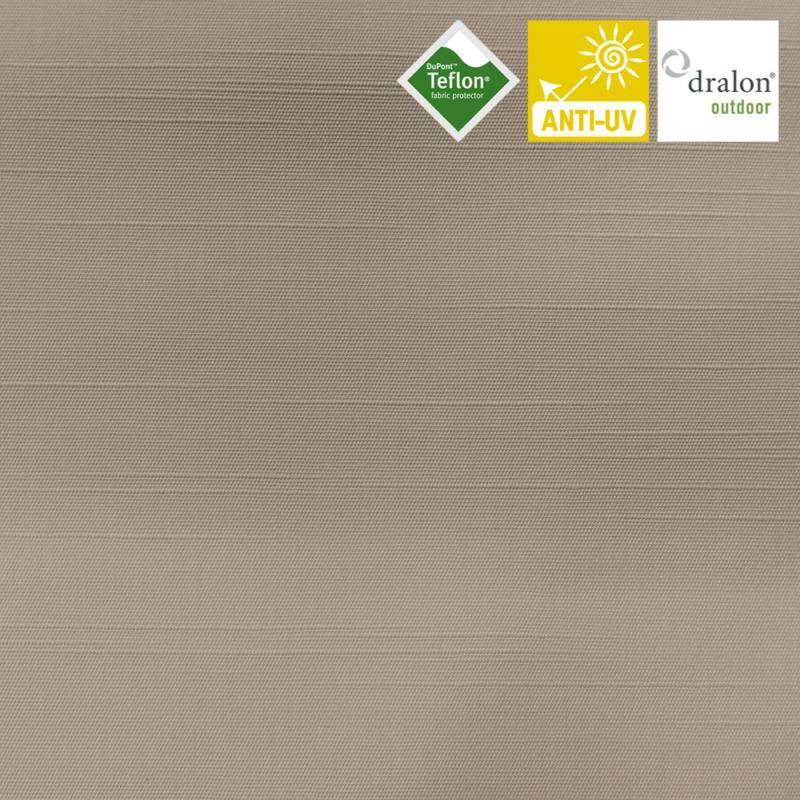 toile ext rieur t flon grande largeur flamenco gris pas. Black Bedroom Furniture Sets. Home Design Ideas