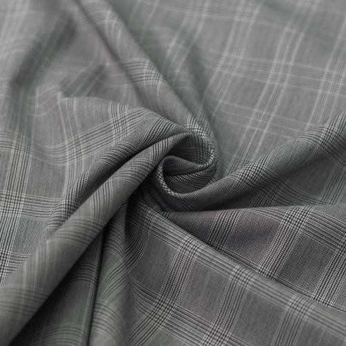Tissu carreaux tissage bleu marine