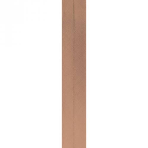 Bobine de biais 30mm 5m noisette