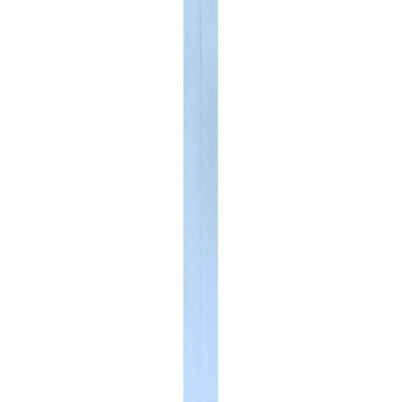 Bobine de biais 20mm 5m bleu ciel