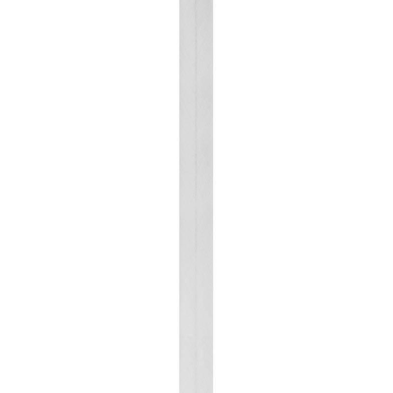 Bobine de biais 20mm 5m gris perle