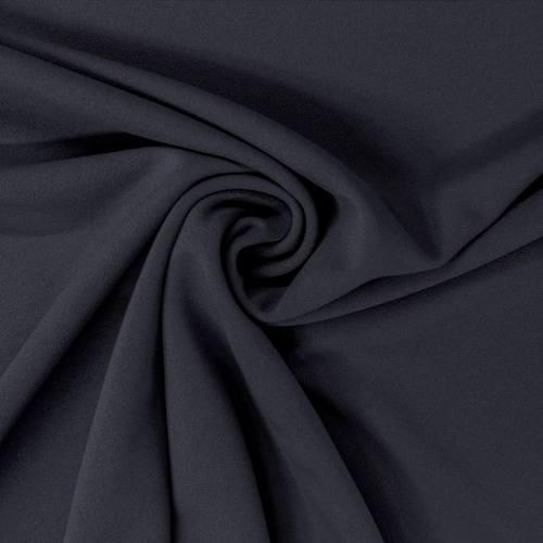 Tissu scuba crêpe bleu marine
