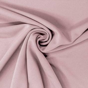 Tissu scuba crêpe vieux rose