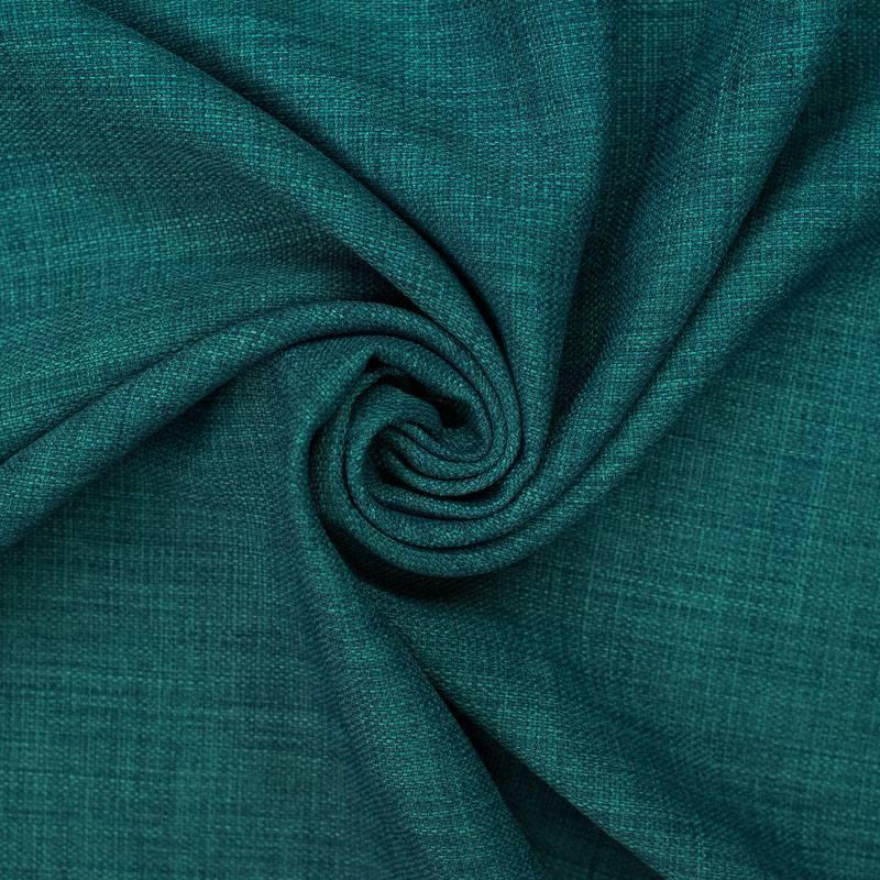 tissu aspect lin bleu canard. Black Bedroom Furniture Sets. Home Design Ideas