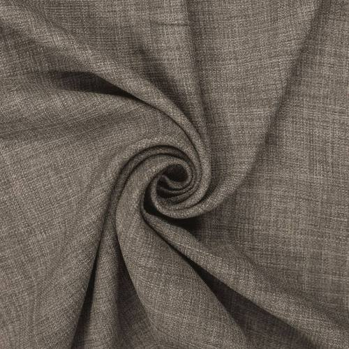 Tissu aspect lin taupe