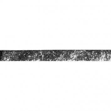 Galon pailleté gris foncé 25mm
