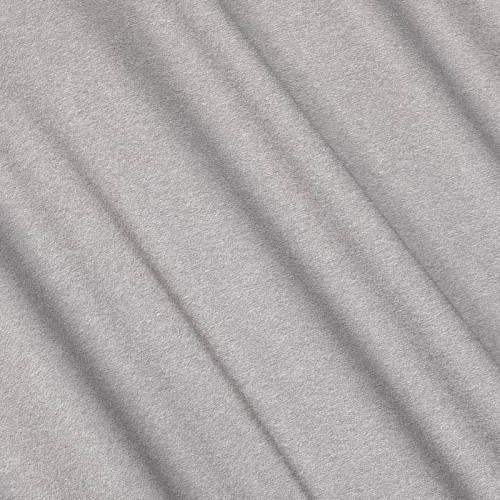 Jersey viscose uni gris chiné