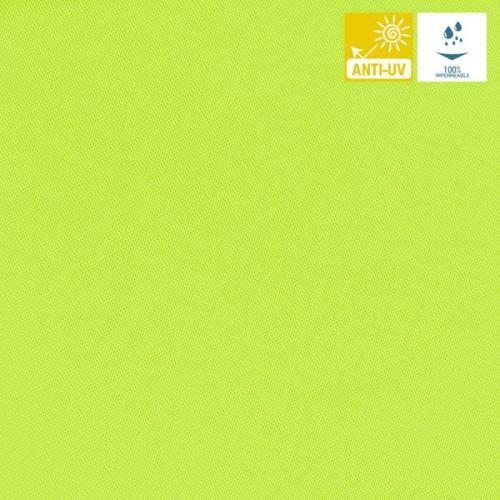Tissu imperméable jet vert fluo