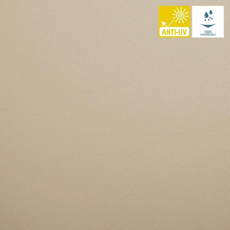 tissu imperm able jet beige pas cher tissus price. Black Bedroom Furniture Sets. Home Design Ideas