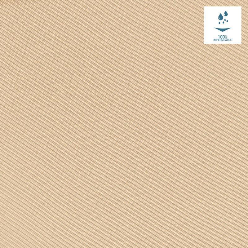 Tissu imperm able jet one beige pas cher tissus price - Tissus exterieur impermeable ...