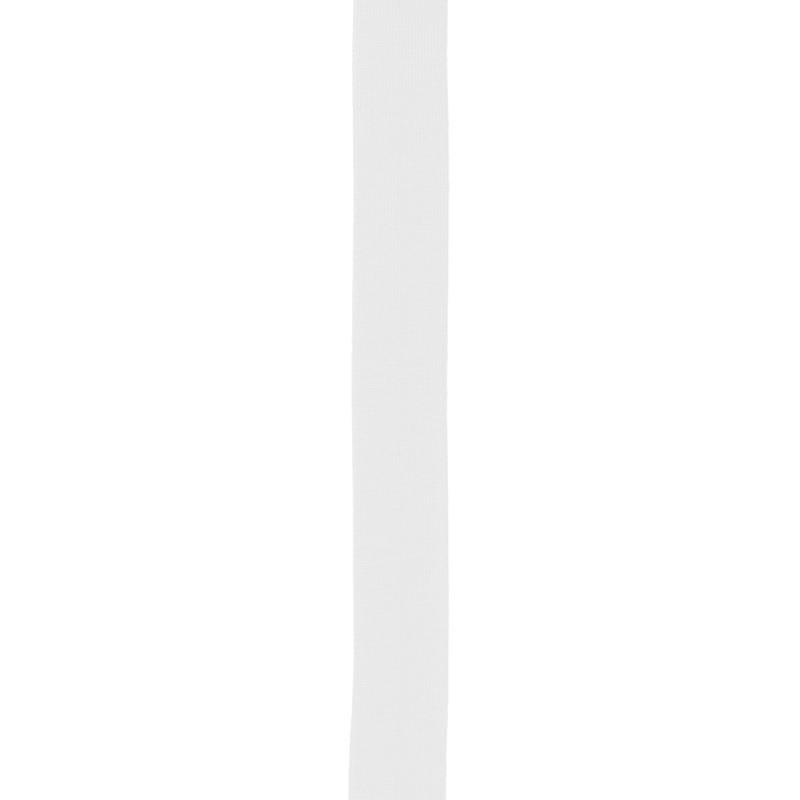 Biais replié jersey blanc