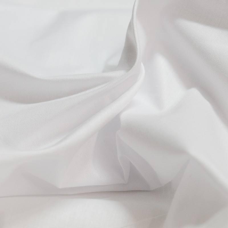 Tissu pour drap blanc
