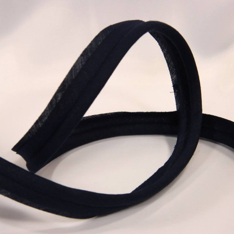 Passepoil bleu marine 45 mm