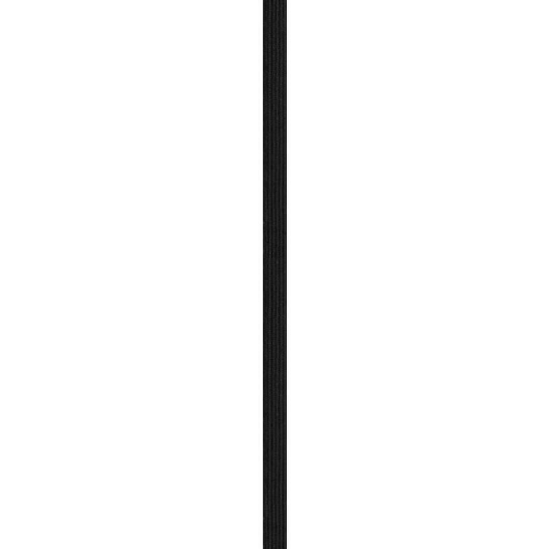 Elastique noir 6mm