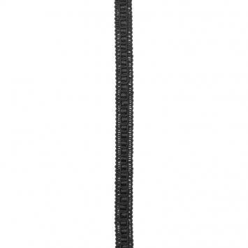 Galon fantaisie 15mm noir