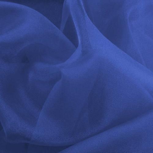 Organza bleu roi