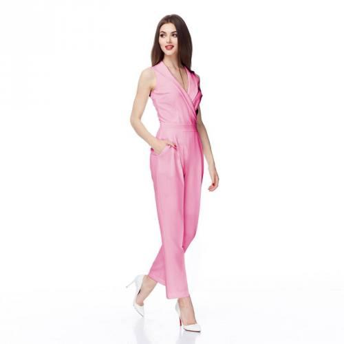 Coton satiné stretch rose pastel