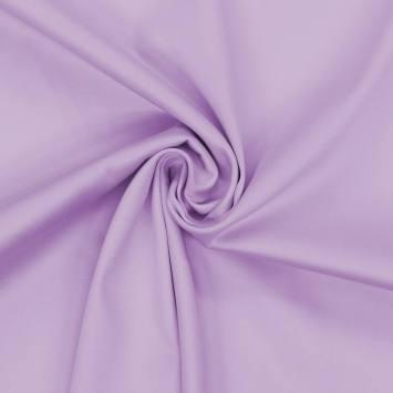 Coton stretch parme