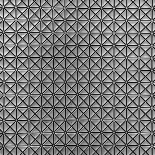 coupon - Coupon 50x65cm - Simili cuir relief japan argent