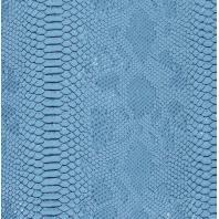 Simili cuir Dragon bleu