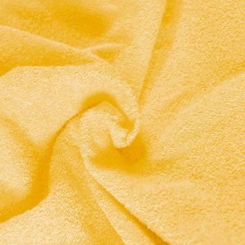 Coupon de 1x1,50m éponge jaune qualité superieur