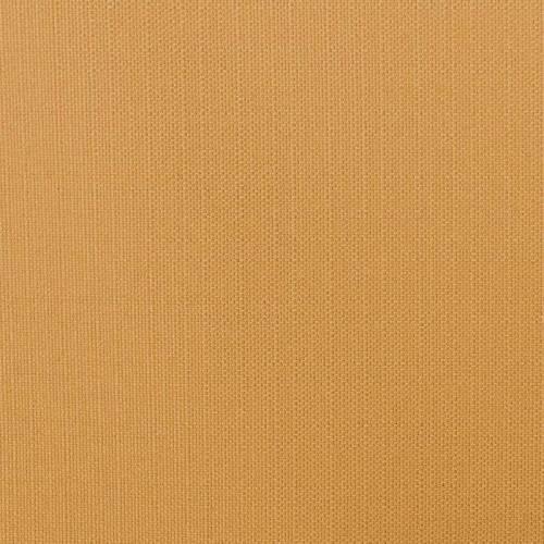 Toile polycoton aspect lin moutarde