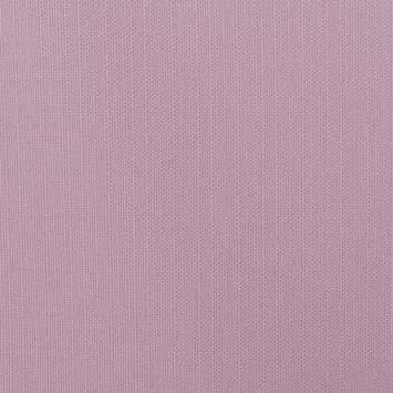 Toile polycoton aspect lin parme