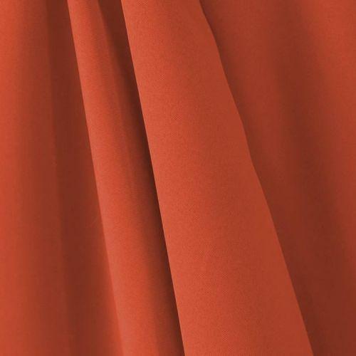 Tissu occultant uni rouge brique