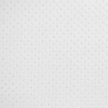 Simili cuir blanc petits capitons paillettes