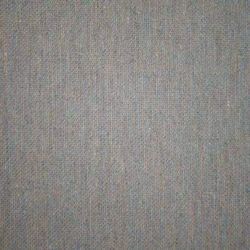 Toile viscose chiné bleue et grise