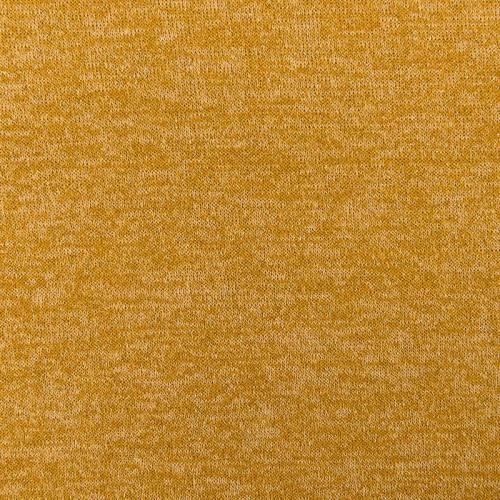 Jersey lainage brillant ocre