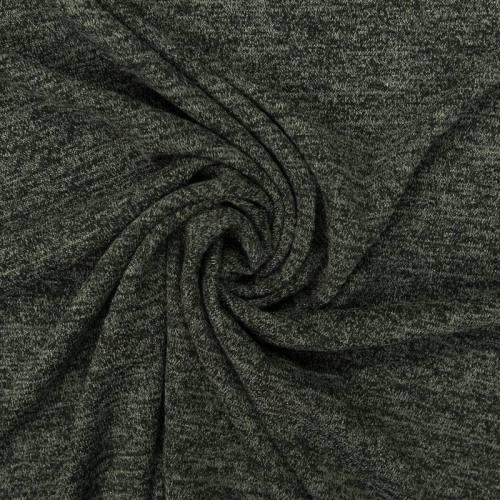 Jersey lainage brillant gris vert