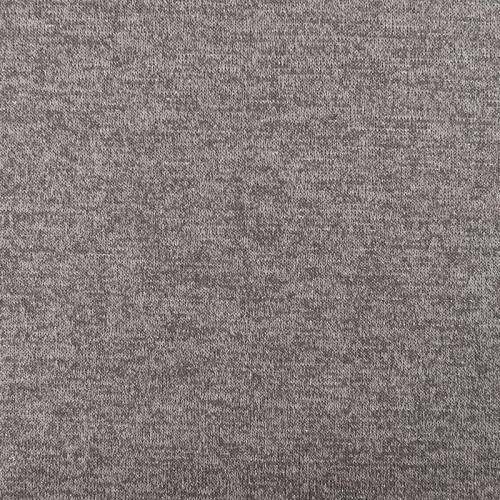 Jersey lainage brillant gris clair