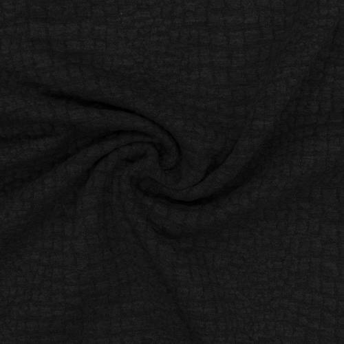 Jacquard croco noir