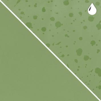 Tissu softshell magique vert pomme motif splash