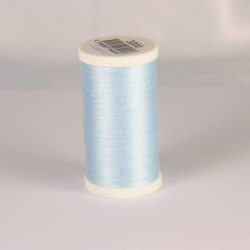 Fil coton laser bleu clair 3200