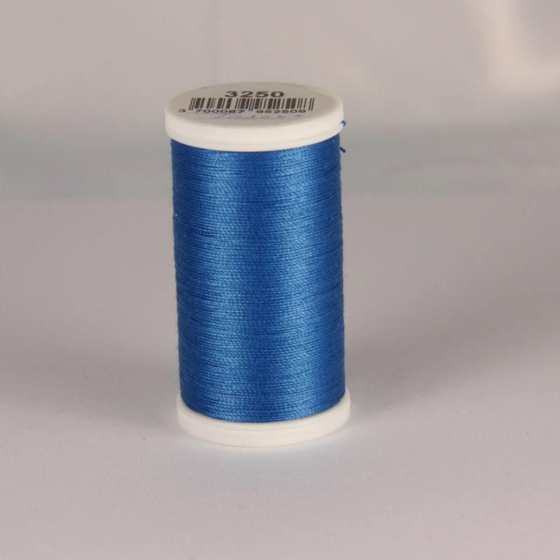 Fil coton laser bleu 3250