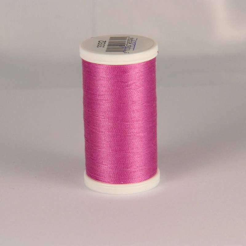 Fil coton laser rose 3332