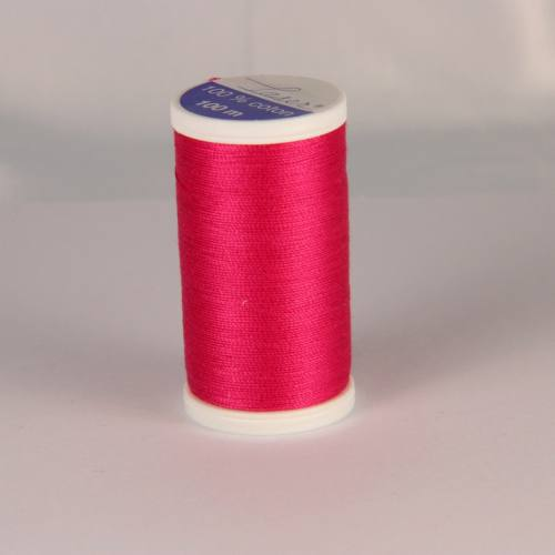 Fil coton laser rose 3436