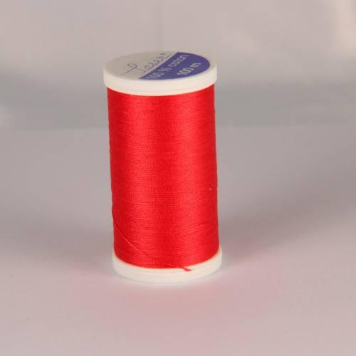 Fil coton laser rouge orange 3518
