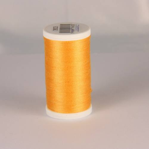 Fil coton laser jaune orangé 3603