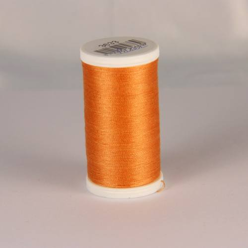 Fil coton laser orange cuivre 3633