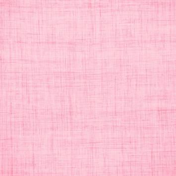 Coton aspect lin rose