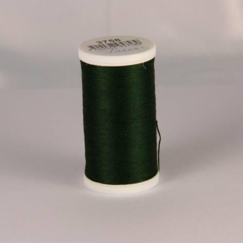 Fil coton laser vert foncé 3758