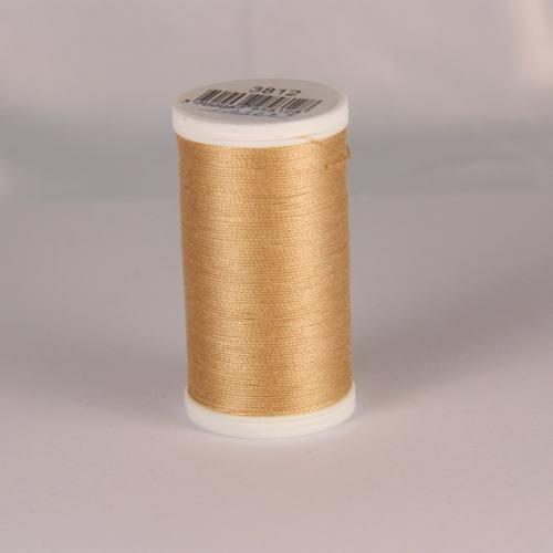 Fil coton laser marron clair 3812